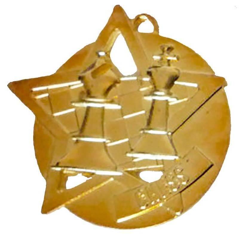 Medalla ajedrez modelo 9