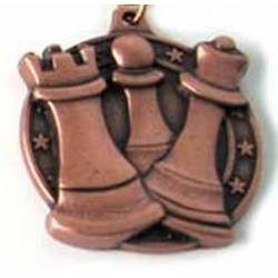 Medallas ajedrez modelo 7