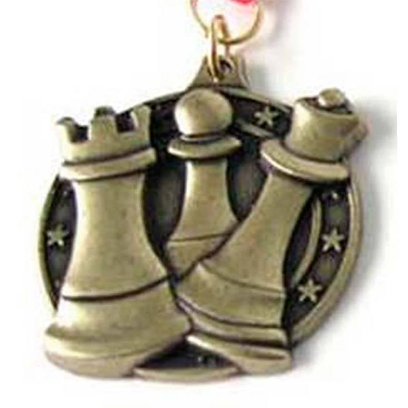 Medalles escacs model 7