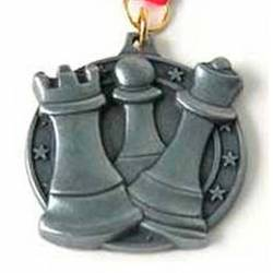Chess medals model 7