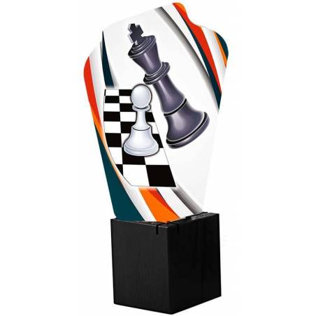 Chess trophies 5381
