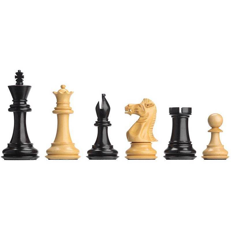Chess electronic pieces Ebony weighted