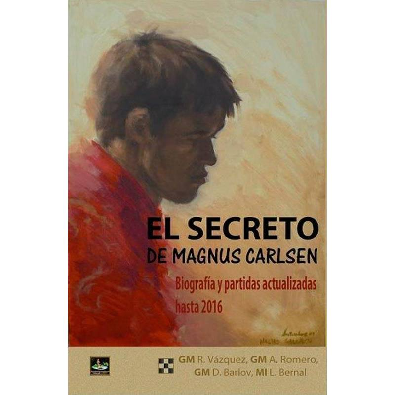 Chess book The secret of Magnus Carlsen