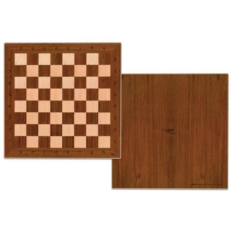 Tauler escacs fusta 33 cm. 8422878701254