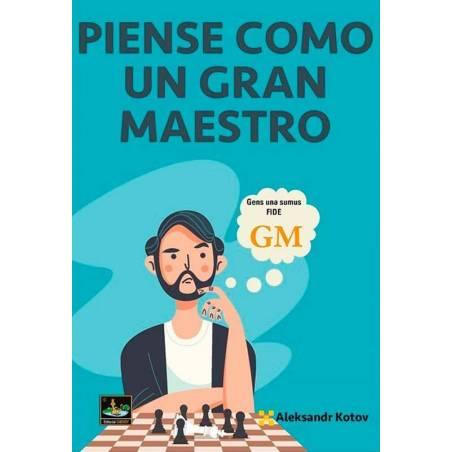 Chess book Libro ajedrez Piense como un gran maestro Kotov Kotov