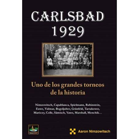 Chess book Carlsbad 1929 Nimzowitsch
