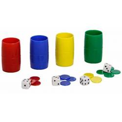 Accessories Parcheesi 4 players Cayro