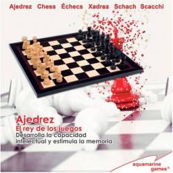 Conjunto ajedrez serie Black 8432026201345