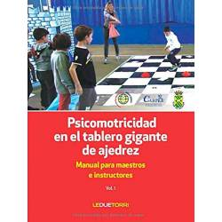 Psicomotricitat en el tauler gegant d'escacs 9788885720350