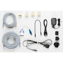 Cables para conectar el primer tablero DGT de 12