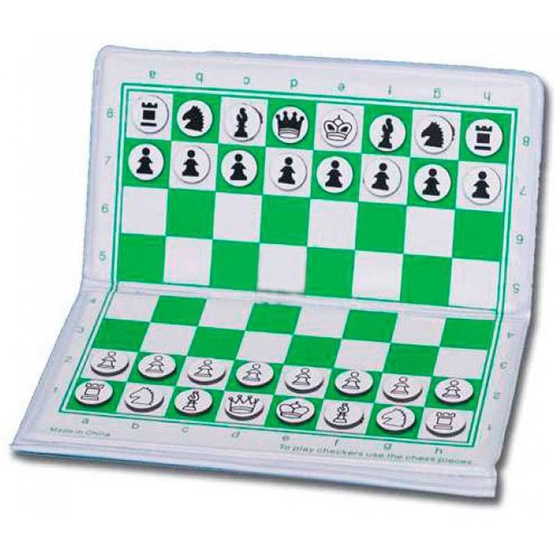 Juego magnético de ajedrez de bolsillo