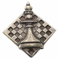 Various models of chess pins.