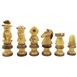 Piezas de ajedrez de lujo Royal