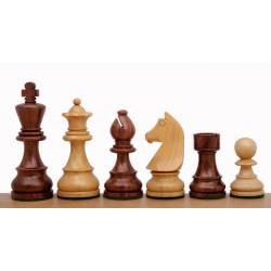 Chess pieces German Knight acacia