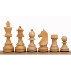 Piezas de ajedrez German Knight acacia