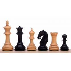 Piezas de ajedrez modelo Columbian ebonizado