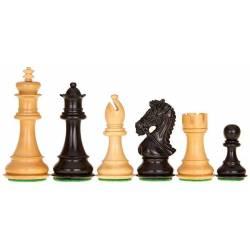 Piezas de ajedrez King´s Bridal ebonizado