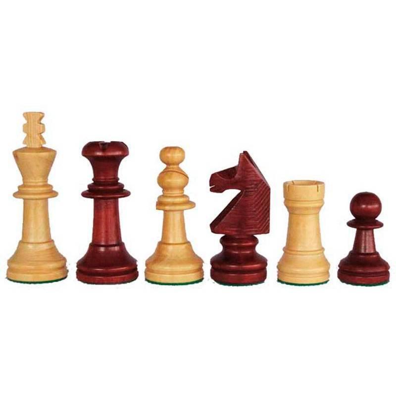 Piezas ajedrez madera estilo Inglés