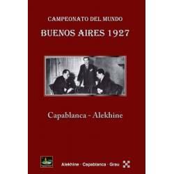 Libro ajedrez Buenos Aires 1927