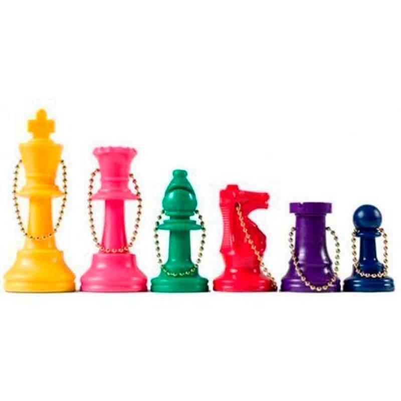 Llaveros de colores ideal para regalar en colegios o clubs