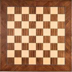 Wooden Walnut diagonal chess board