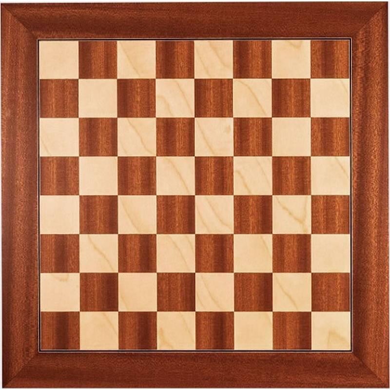 Tablero ajedrez Madera Sapelly deluxe  Rechapados Ferrer