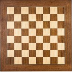 Teka De Luxe wooden chess board 50 cm. Rechapados Ferrer