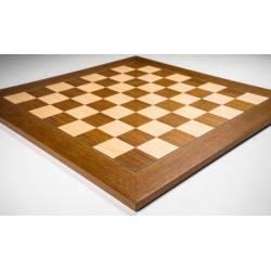 Tablero ajedrez madera Teka De Luxe 50 cm. Rechapados Ferrer