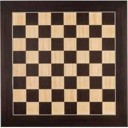 Tablero ajedrez madera Wengue De Luxe  50 cm. Rechapados Ferrer