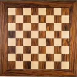 Tauler escacs fusta Palisandro Santos deluxe. Rechapados Ferrer
