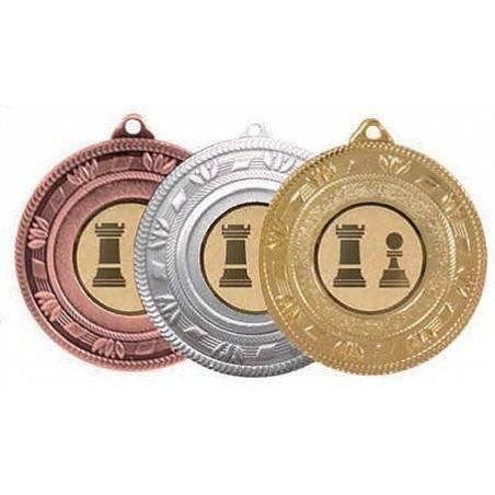 Medallas con disco ajedrez modelo 29901