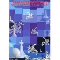 Llibre escacs Temes estratègics de l'obertura al final