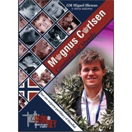 Llibre escacs Magnus Carlsen Campió del Món