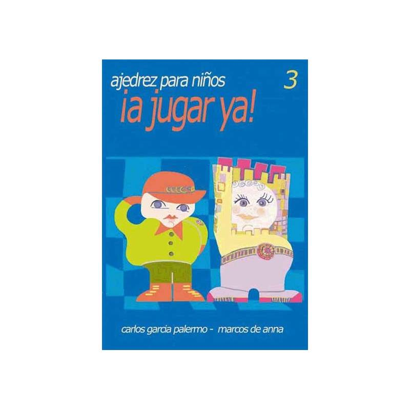 Book Chess for kids to play and 3