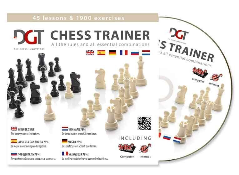 DGT Chess-Trainer CD upgraded version 8