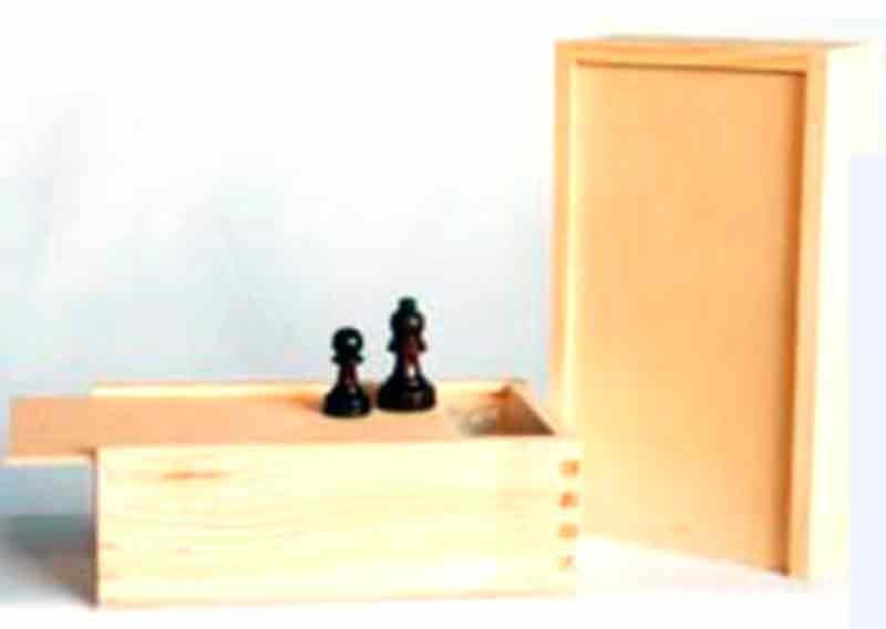 Box with large sliding top 25,5 cm.
