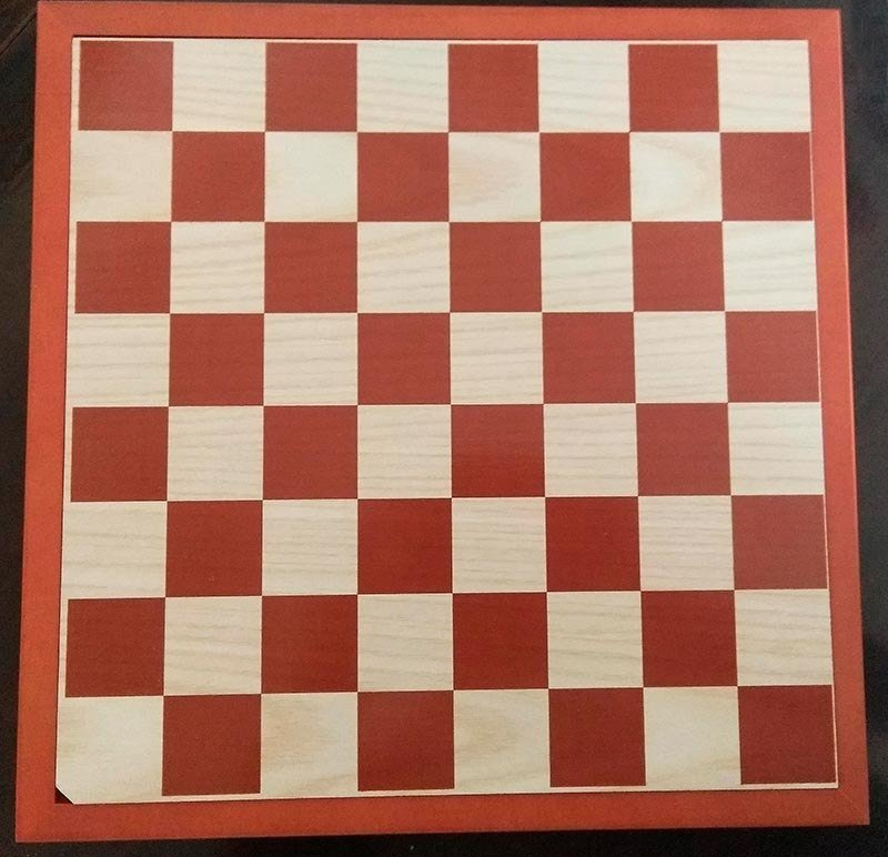 Wooden board 31 cm. with cap