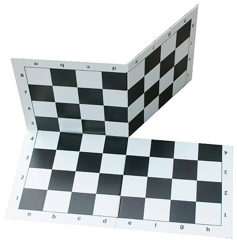 Folding plastic board in 4