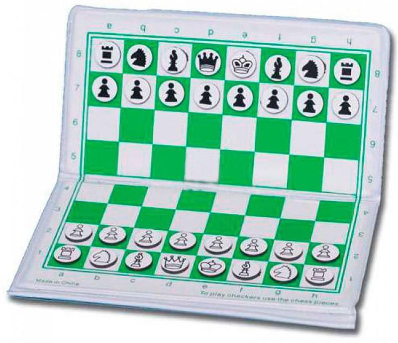 Juego de ajedrez magnético plegable 17 y 23 cm