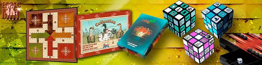 Juegos de mesa: clásicos, familiares, agilidad mental, etc.