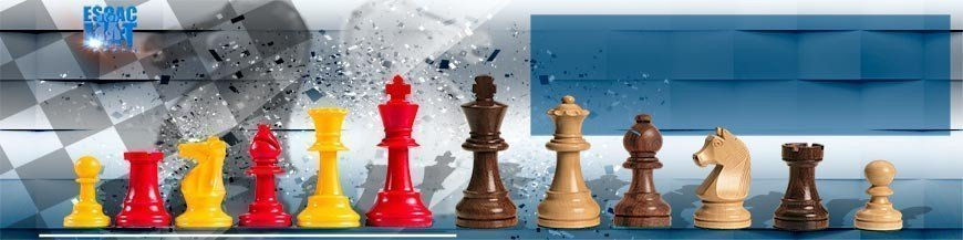 Pîezas grandes ajedrez