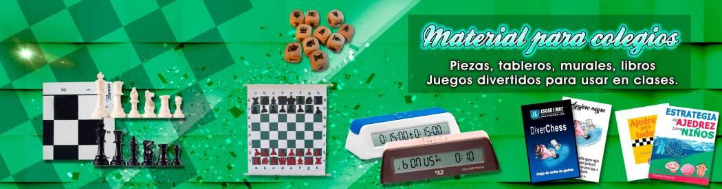 Material de ajedrez para colegios